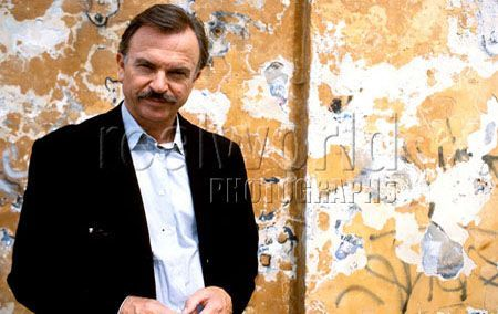 Actor Sam Neill poses for a photograph in Prague, Czech Republic.